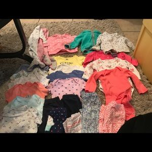 carters 9 month lot
